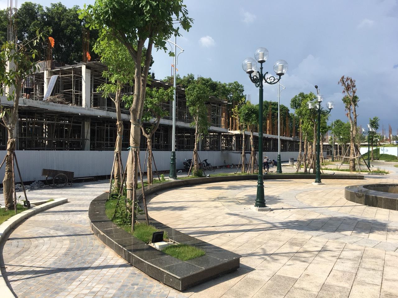 tiến độ xây dựng bình minh garden đức giang