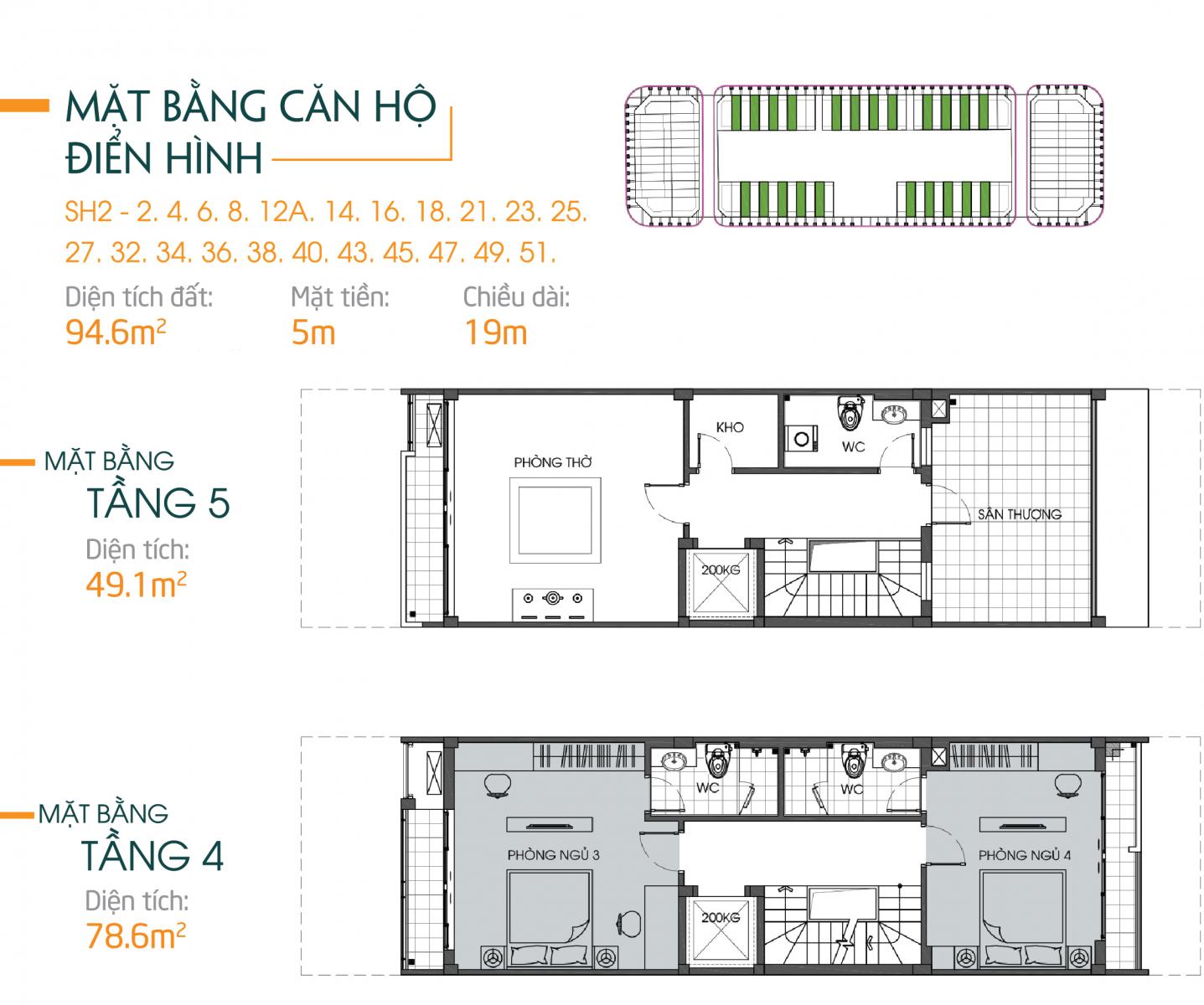 Thiết kế căn hộ 94m2 bình minh garden