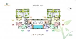Thiết kế căn hộ 03 phòng ngủ chung cư Bình Minh Garden Đức Giang